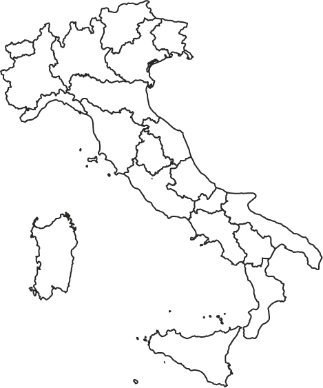 Italy Map Filled@2x