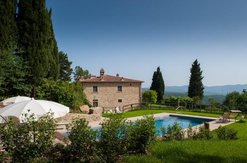 Piscina Villa Leopoldina Vista Villa 5